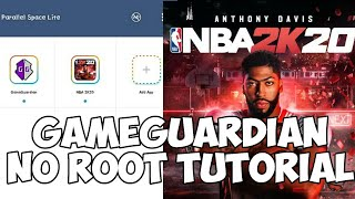GAMEGUARDIAN NO ROOT TUTORIAL FOR NBA2K20 MOBILE