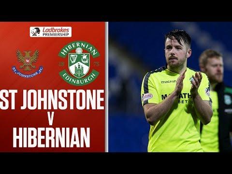 St Johnstone 1-2 Hibernian | McNulty scores twice for 10-man visitors | Ladbrokes Premiership