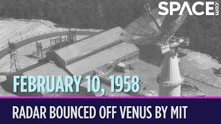 OTD in Space – February 10: Radar Bounced Off Venus by MIT