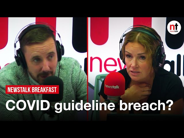 Is Katherine Zappone's position untenable if a breach of COVID guidelines is found at hotel event?