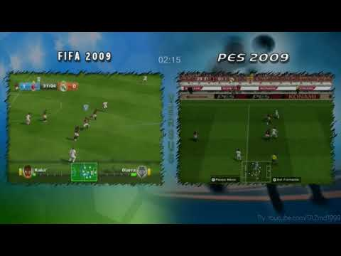 Fifa Vs Pes [2009] For The Wii