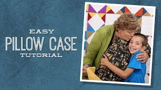 Children's Sewing Projects: Easy Pillowcase with Jenny and Talon