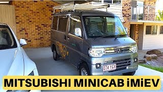 Mitsubishi Minicab MiEV Van Test Drive at Rob's