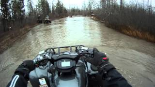 2016 Yamaha Grizzly + Can-Am's Mudding. ACTION STARTS AT 4 MINUTES IN