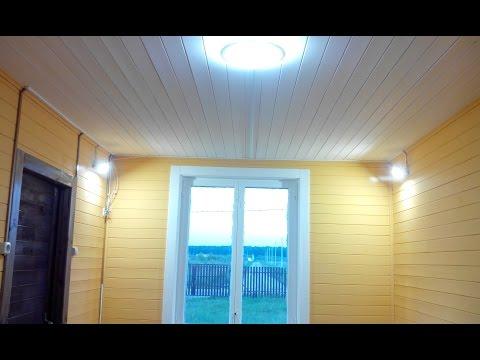 Внутренний интерьер в дачном домике
