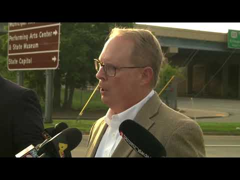MNPD Officials Hold Press Conference On Officer Killed