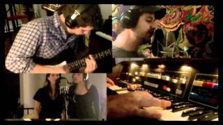 """""""And It Stoned Me"""" (Van Morrison Cover) - Recording Session Collage"""