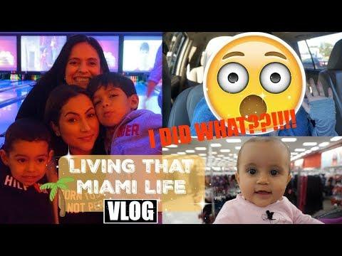 MIAMI VLOG// LIVING THAT MIAMI LIFE// I DID WHAT??!!