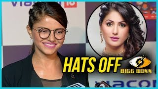 Rubina Dilaik Says Hats Off To Hina Khan And Bigg Boss Contestants