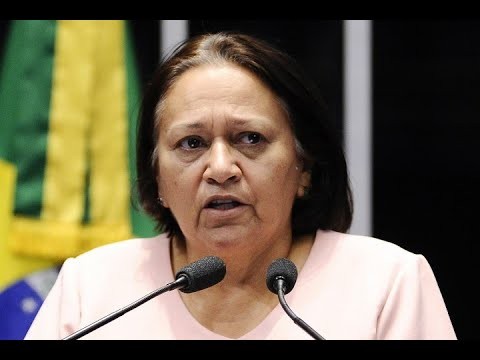 Fátima Bezerra critica intervenção federal na segurança pública do Rio de Janeiro