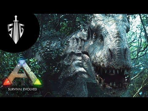 İndominus Rex  I  ARK Survival Pugnacia Modlu  #10