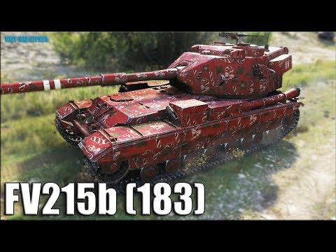 11к урона так решил ВБР ✅ FV215b (183) World of Tanks