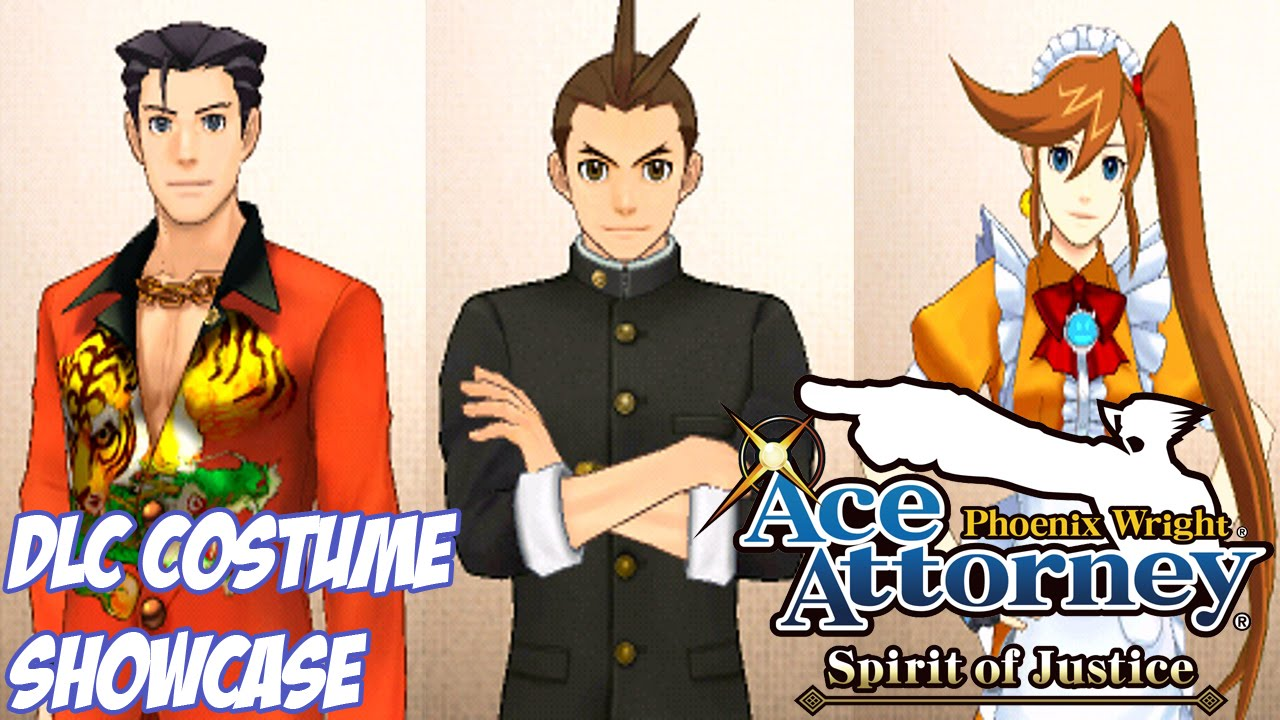 Phoenix Wright: Ace Attorney - Spirit of Justice Extra: DLC Costumes