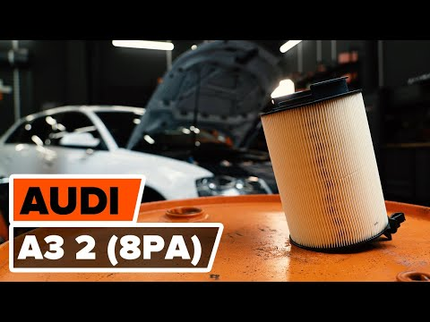 Как заменить воздушный фильтр двигателя на AUDI A3 2 (8PA) [ВИДЕОУРОК AUTODOC]