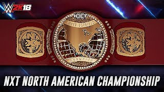 WWE 2K18 - How To Make The NXT North American Championship [PS4/XBOX ONE]