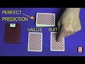 Perfect prediction card trick revealed mp3