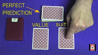 Perfect Prediction Card Trick REVEALED