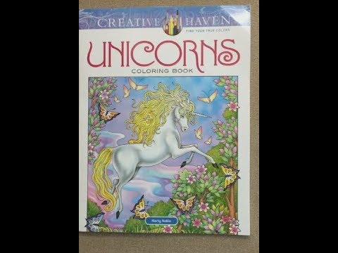 unicorns---creative-haven-(mary-noble)-flip-through