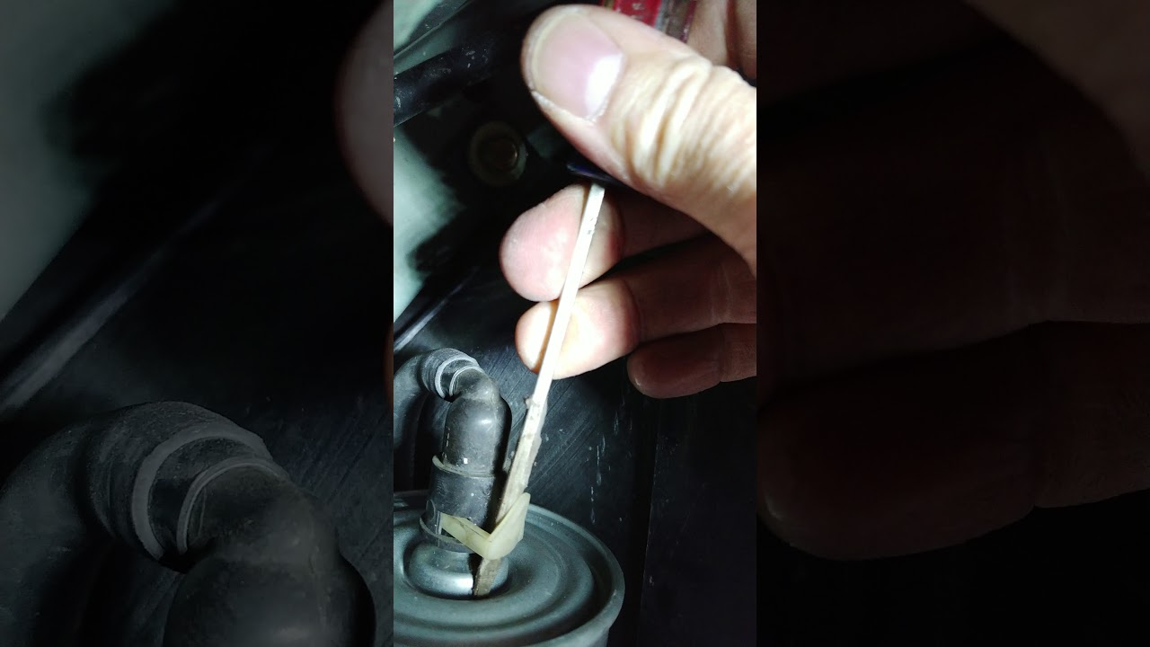 1999 mercury mystique fuel filter replacement - YouTube