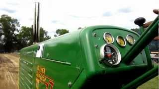 my oliver 77 in the 7500lb class 2012 tractor pull