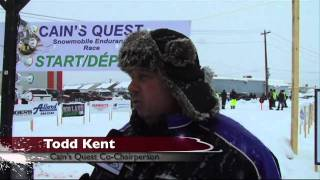 Snowmobiler TV Cain's Quest Show Part 1