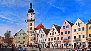 видео Отдых и лечение в городе Вайден (Германия)