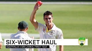 Cummins' six too strong for Sri Lanka