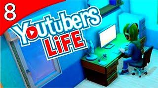 Youtubers Life - GRAVANDO COM OUTRO YOUTUBER! #8 ( GAMEPLAY / PC / PTBR PORTUGUÊS ) HD