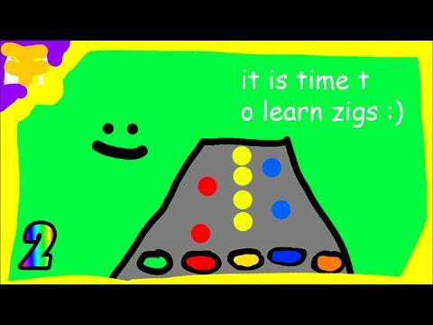 How to hit Zig Zags Clone Hero Tutorial
