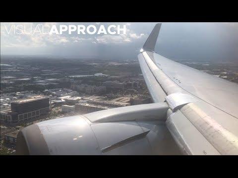 American Airlines Boeing B767-300ER landing at Miami International