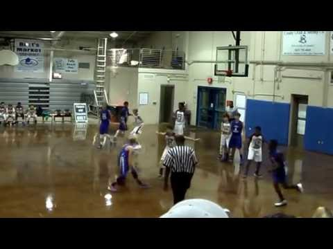 Laing Braves 7th Grade Hoops 12/10/2016 (-vs- Fort Johnson)