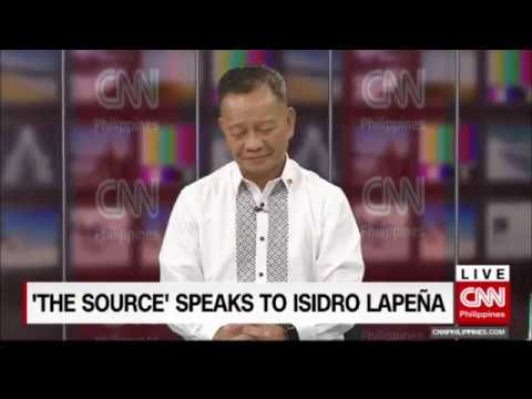 'The Source' speaks to Customs Commissioner Isidro Lapeña