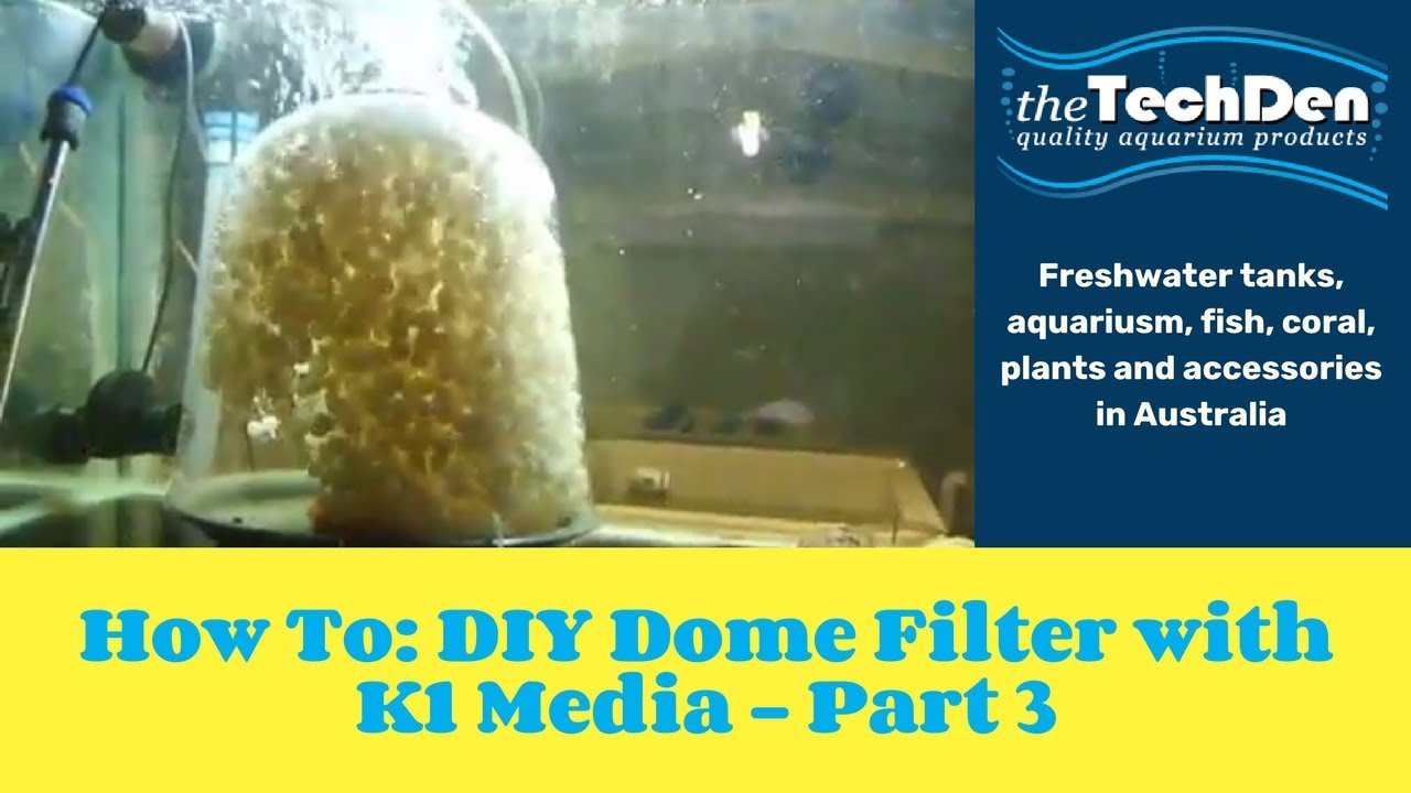 How to diy dome filter with k1 media part 3 doovi for Diy filter media
