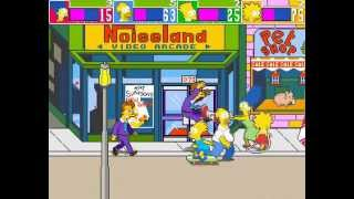 Game | The Simpsons Arcade Game 4 player Netplay 60fps | The Simpsons Arcade Game 4 player Netplay 60fps