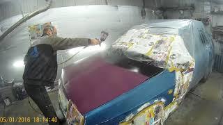 бюджетная покраска ваз 2109 дешовый вариант покраски авто
