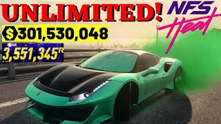 SUPER EASY! UNLIMITED MONEY & REP IN NFS HEAT! NEED FOR SPEED HEAT MONEY GLITCH! NFS HEAT REP GLITCH