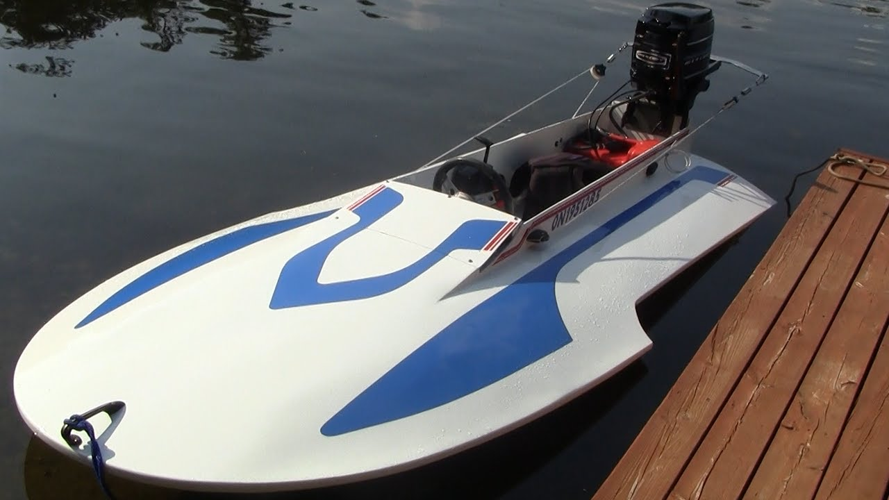 My Hal Kelly Wetback Hydroplane - YouTube