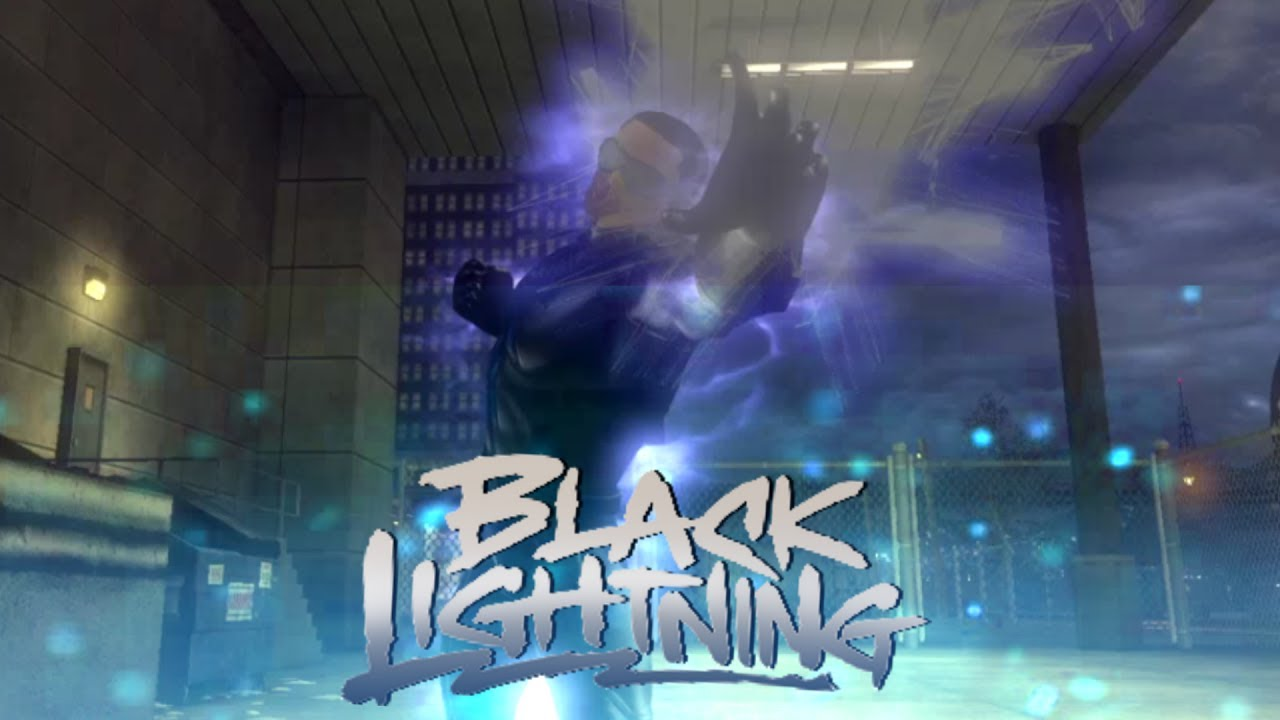 dcuo black lightning style my version youtube