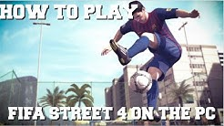 HOW TO PLAY FIFA STREET 4 ON PC WITH RPCS3 EMULATOR FULL SETUP GUIDE (FIFA STREET 4 PC GAMEPLAY)
