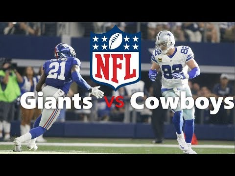 Dallas Cowboys VS New York Giants With Project Shanks