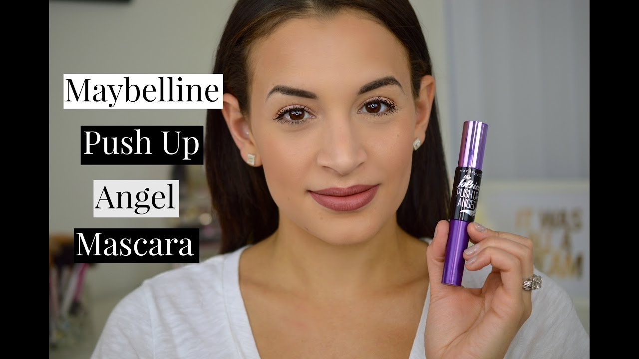 112289dc2ca Maybelline the Falsies Push Up Angel Mascara | Review and Demo - YouTube