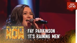Fay Parkinson performs 'It's Raining Men' by The Weather Girls/Geri Halliwell - All Together Now