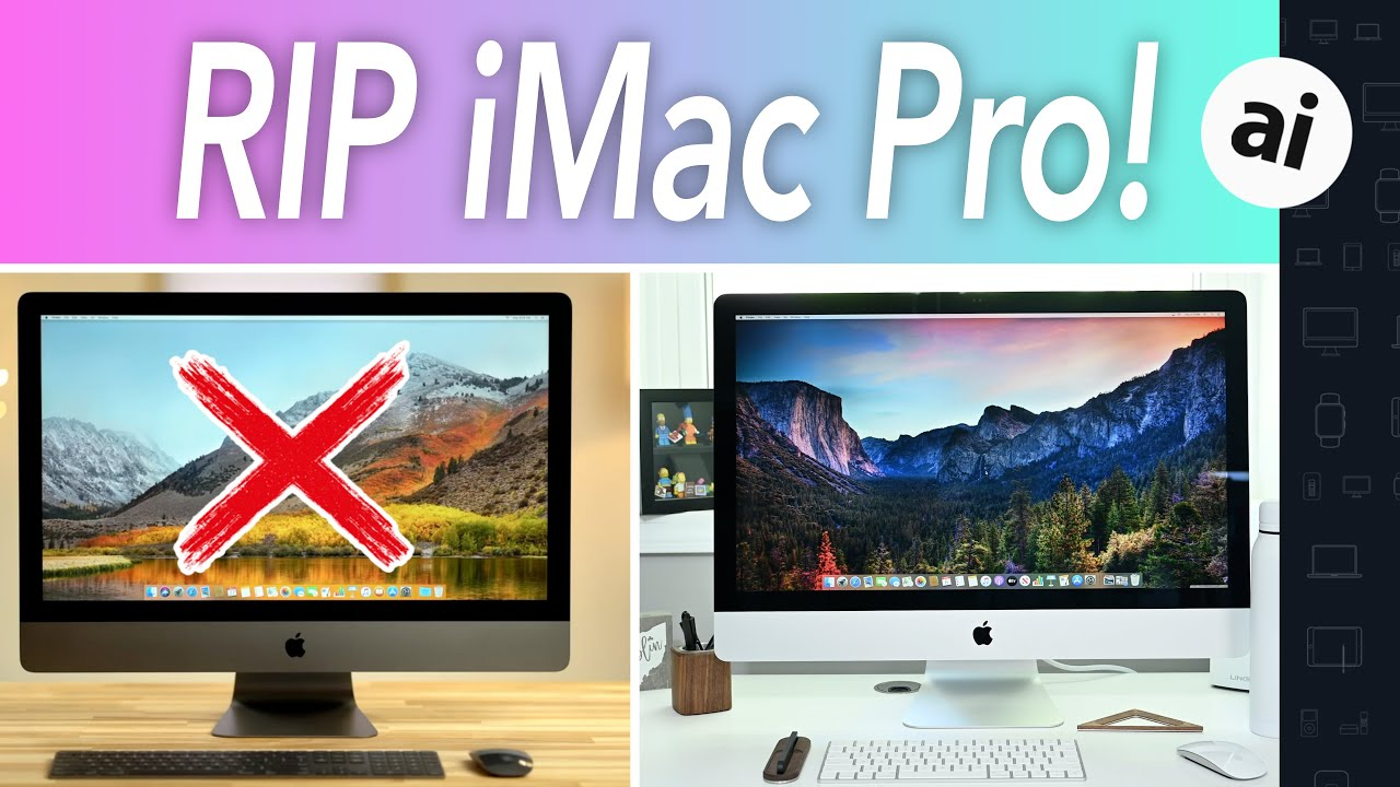 Compared: $4,999 27-inch iMac vs $4,999 iMac Pro
