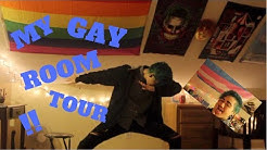MY GAY ROOM TOUR !!
