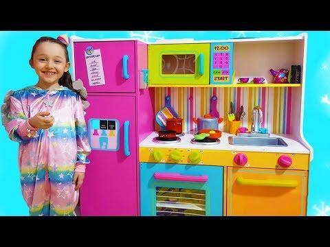 Öykü Pretend Play with DELUXE Kitchen Toys Set - Funny Oyuncak Avı