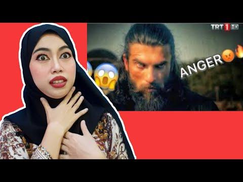 Turgut Alp | Angry Moments 😡🔥 | Indonesian 🇲🇨 Reaction