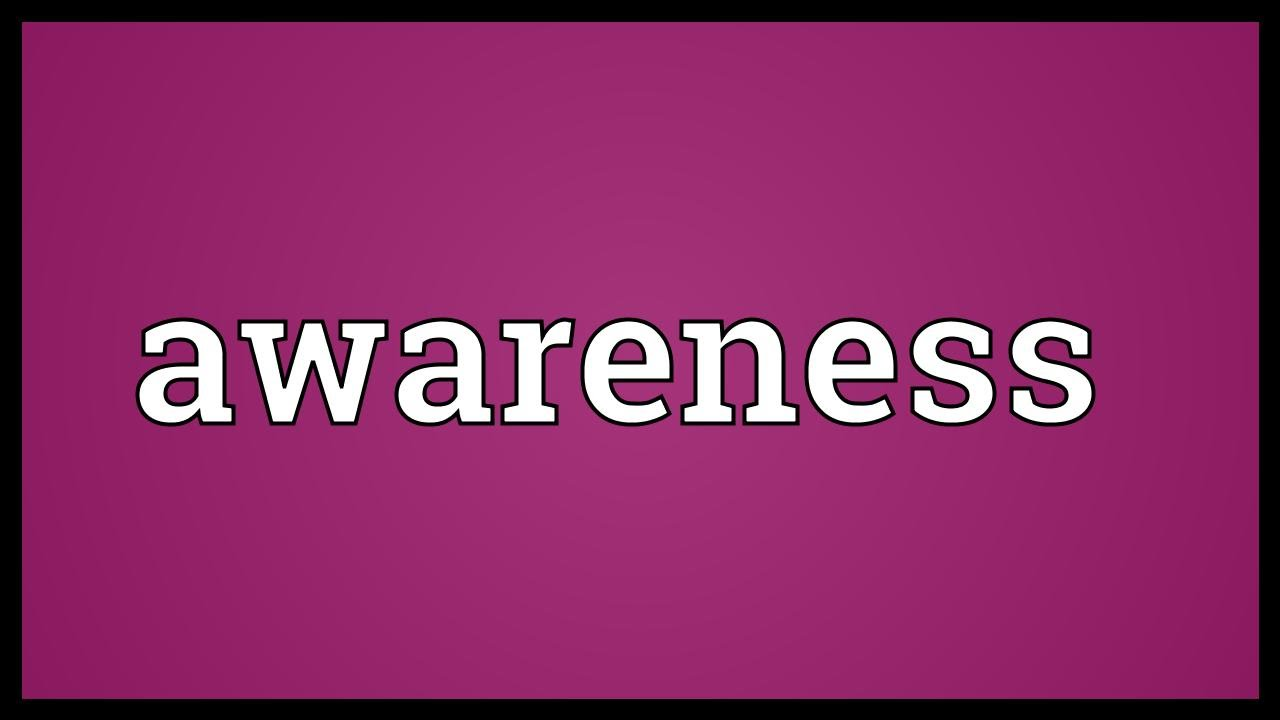 awareness meaning youtube
