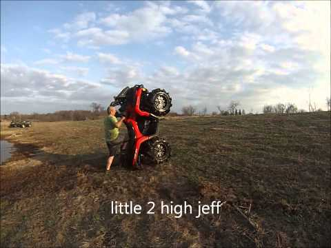 atv mudding and water with h&h motorsports