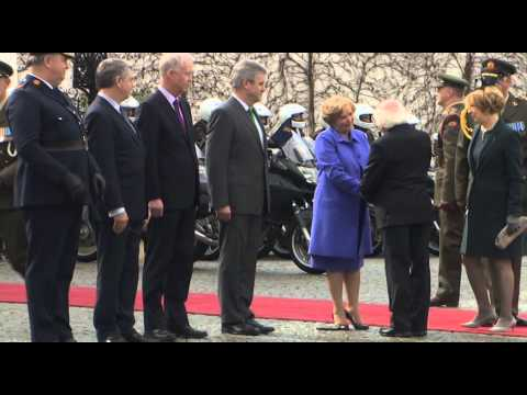 President Higgins Departs on First State Visit to The United Kingdom