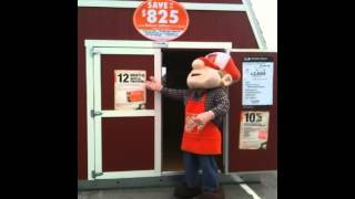 Tuff Shed Home Depot Tb-600 Homer Approved